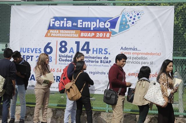 En agosto 90 mil poblanos siguieron en situación de desempleo: Inegi
