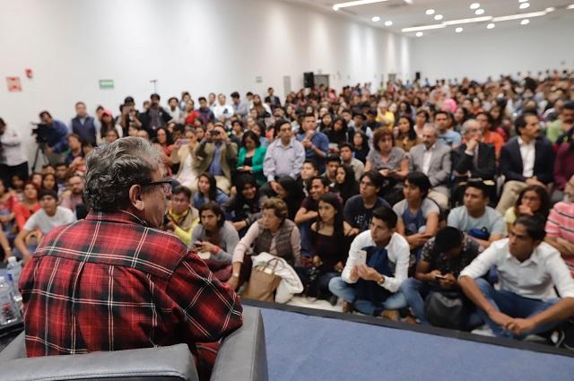 Fraude electoral en Puebla no se olvida: Paco IgnacioTaibo II