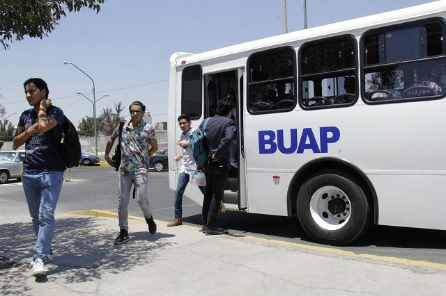 Abre BUAP nuevas rutas del STU desde Medicina, CCU y Lenguas
