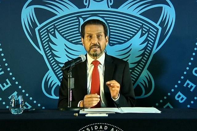 Exige Esparza respetar elección en la BUAP y no haya intromisión