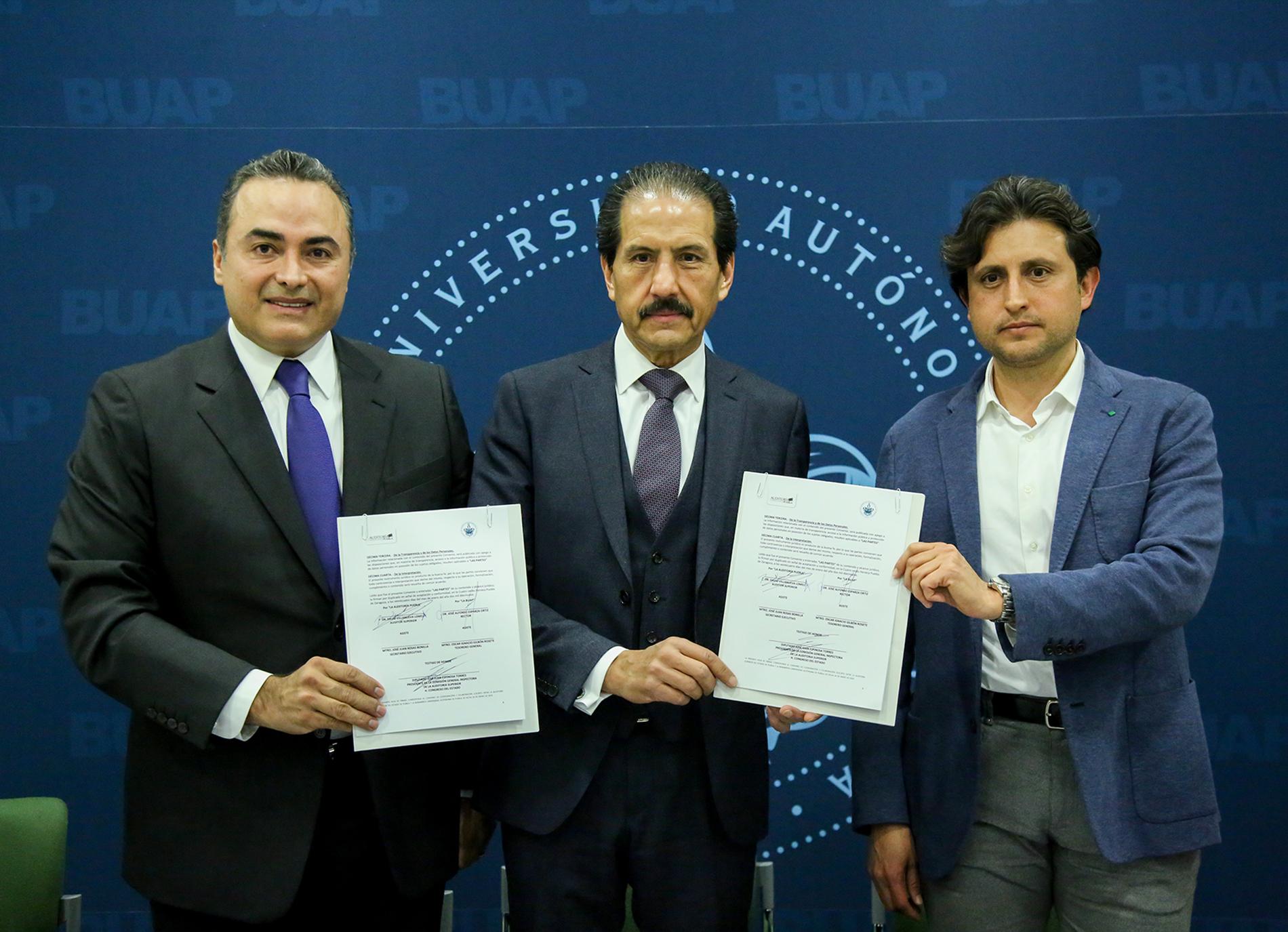 BUAP y ASE harán laboratorio de calidad de obra pública