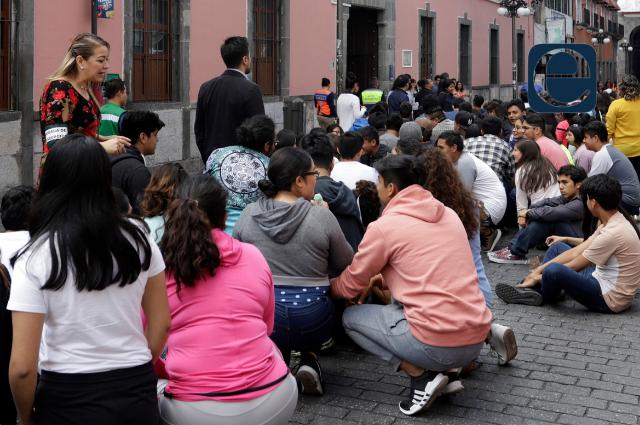 ¡Que no te sorprenda! Puebla tiene macrosimulacro de sismo