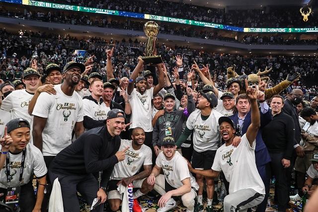 Los Bucks consiguen su primer título NBA en 50 años
