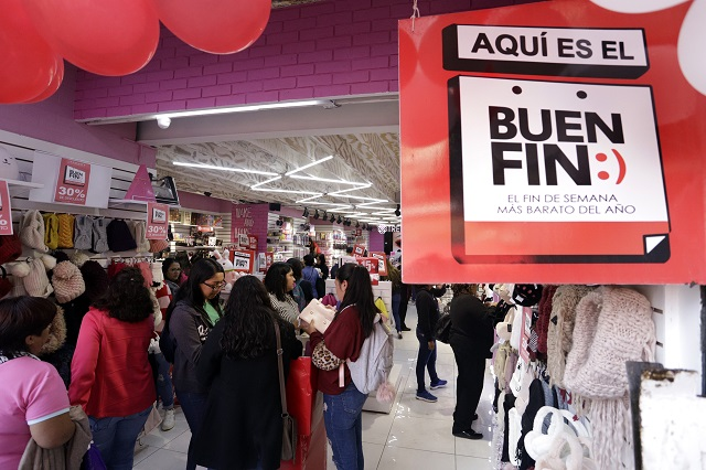 Celulares, pantallas y licor, lo más robado en el Buen Fin en Puebla
