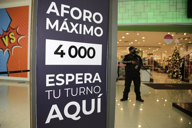 Centros comerciales poblanos invierten 90 mdp contra Covid