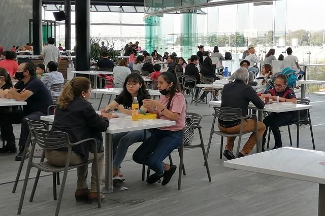 Restaurantes en Puebla, con 60% menos ventas que en 2019