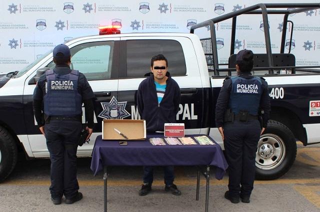Detienen a asaltante de tiendas Oxxo en Santa Cruz Buenavista