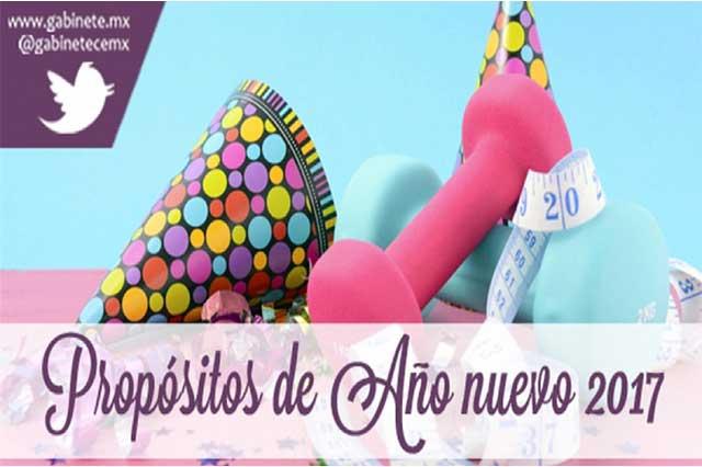 Buenos propósitos del mexicano que quedan en sueños