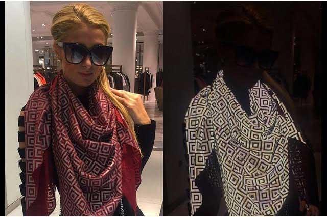 Diseñan bufanda que protege a celebridades de paparazis