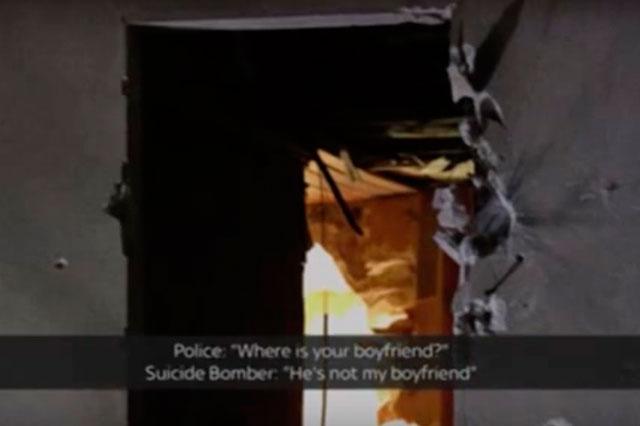 Difunden  audio de mujer suicida que discute con policías y se hace estallar