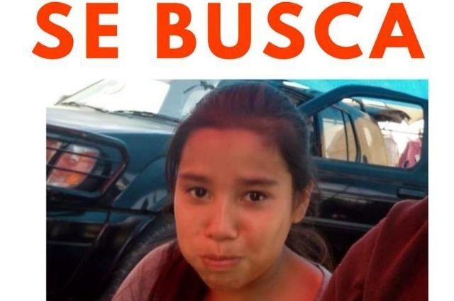 Buscan a Naomi de 11 años desaparecida en Huejotzingo