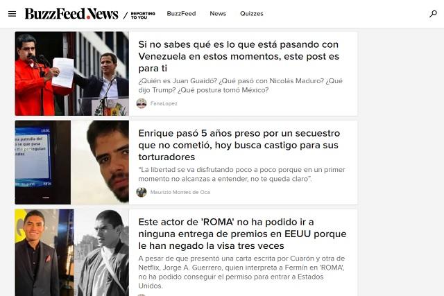 Por fallas en el modelo de negocio, desaparece BuzzFeed News México