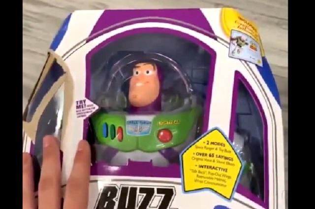 Resuelven misterio de por qué juguete de Buzz movió la cabeza