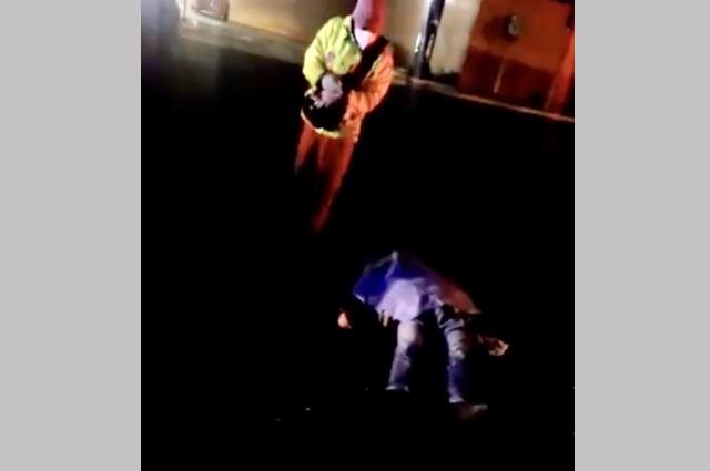 Muere motociclista al chocar con un Ruta Cholula en La Paz