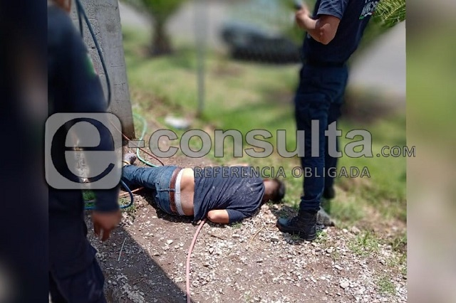 Un muerto y un herido deja balacera en Texmelucan
