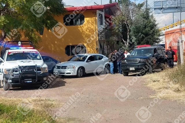 A balazos grupo armado asalta obra en San Miguel Mayorazgo