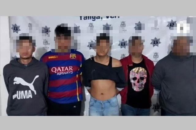 Cae banda de poblanos por robo en Sanborns en Veracruz