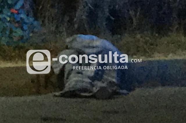 Baleado, muere hombre en la México- Puebla, cerca de Caleras