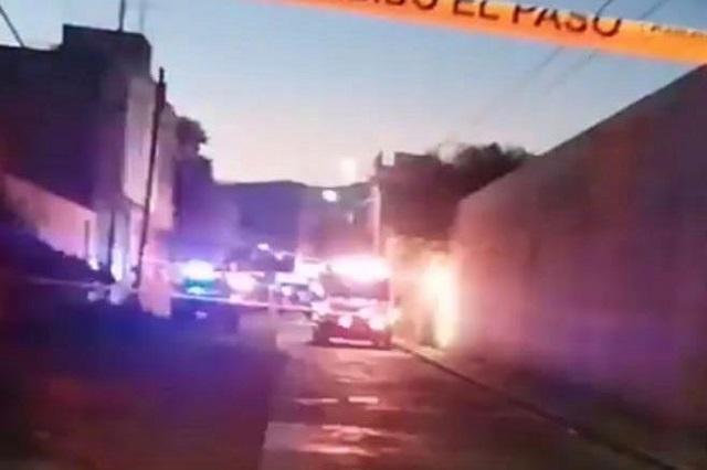 Riña en calles de Tehuacán deja un muerto a puñaladas