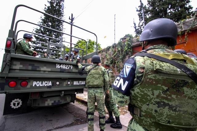 Hay más delitos en Puebla con todo y 3 mil elementos de GN