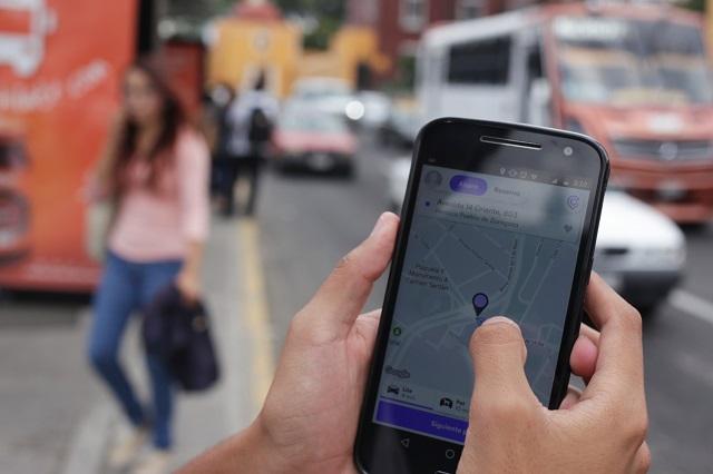 Uber, Didi y Cabify ya cobran en efectivo en Puebla