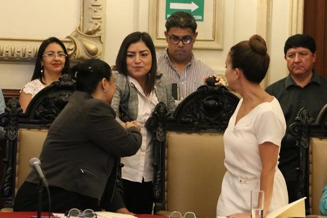 Reclaman panistas despidos en el Ayuntamiento de Puebla