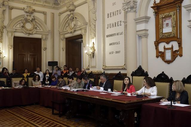 Harán sesiones de cabildo a puerta cerrada en Puebla capital