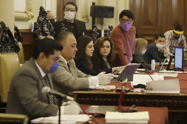 Van regidores por recorte salarial para apoyar por Covid en Puebla