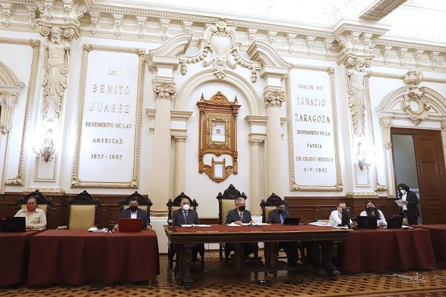 Avalan regidores estados financieros  de marzo en comuna de Puebla