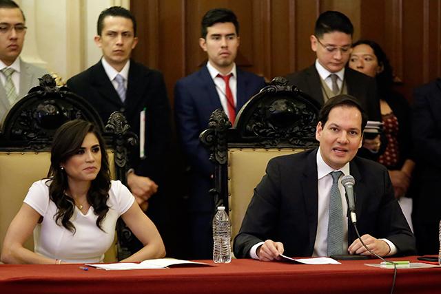 Solicita el PVEM mantener a Puebla segura y ordenada