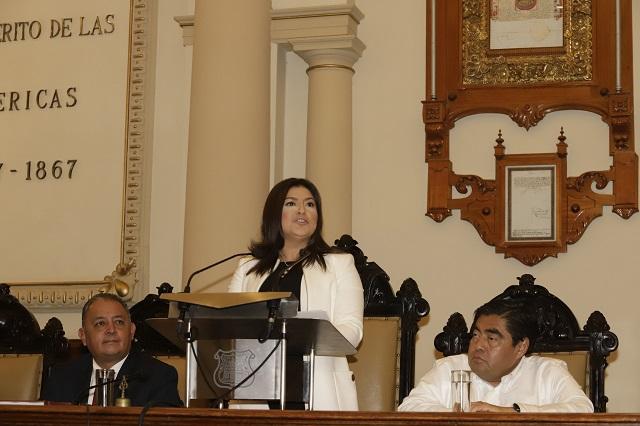 Presume Claudia Rivera triunfo sobre los que le auguraban fracaso