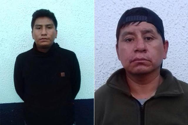 Aseguran a dos hombres por robo de cable de Telmex
