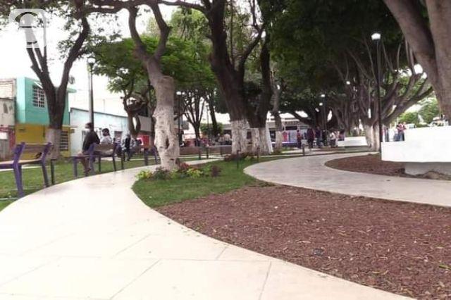 Ahora se roban el cable de obras recién inauguradas en Tehuacán