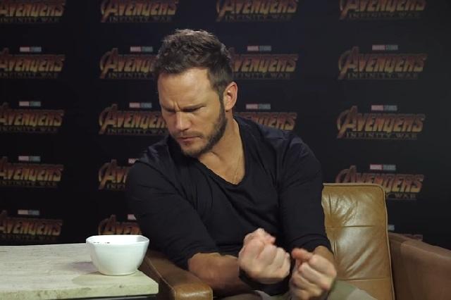 Actor de Avengers: Infinity War come cacahuates enchilados y le fascinan