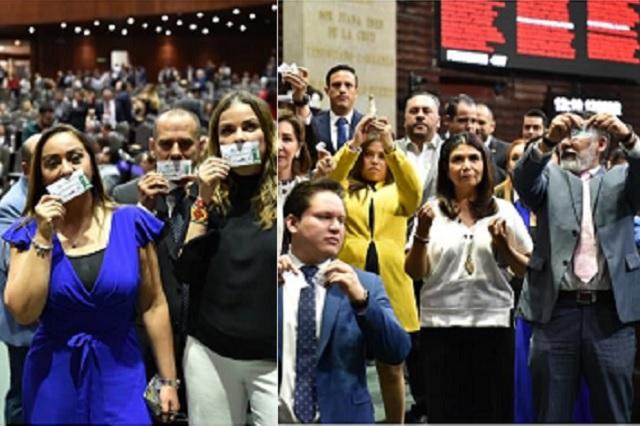 'Los mexicanos somos más que la rifa de un avión', señalan panistas