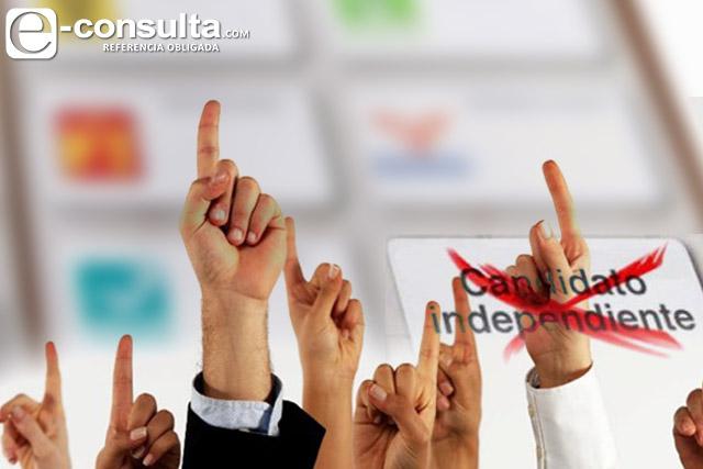 Sólo 14 independientes reúnen firmas para su registro en Puebla