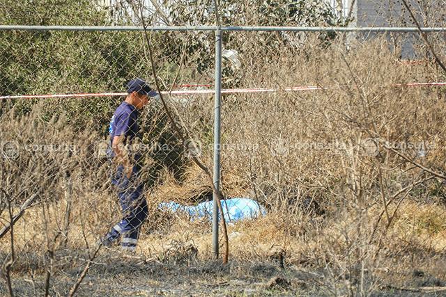 Hallan cadáver golpeado al lado de la México-Puebla