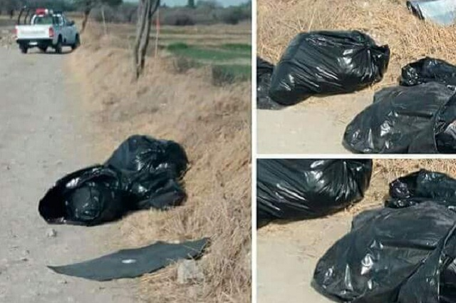 Hallan cadáver desmembrado dentro de bolsas en Tlacotepec