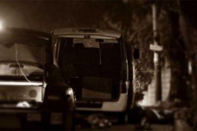 Encuentran en Veracruz 11 cadáveres dentro de una camioneta