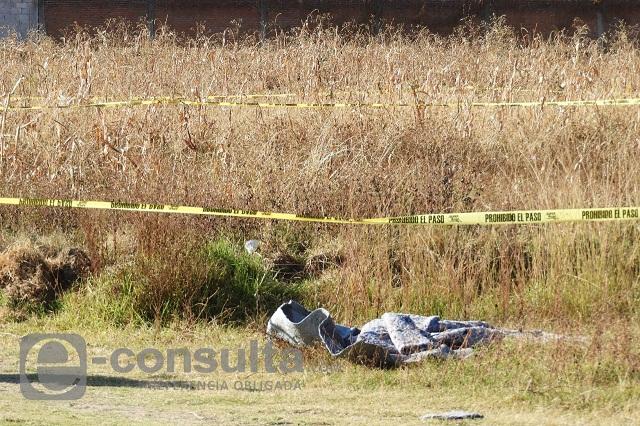 Localizan dos cadáveres con el tiro de gracia en Chietla