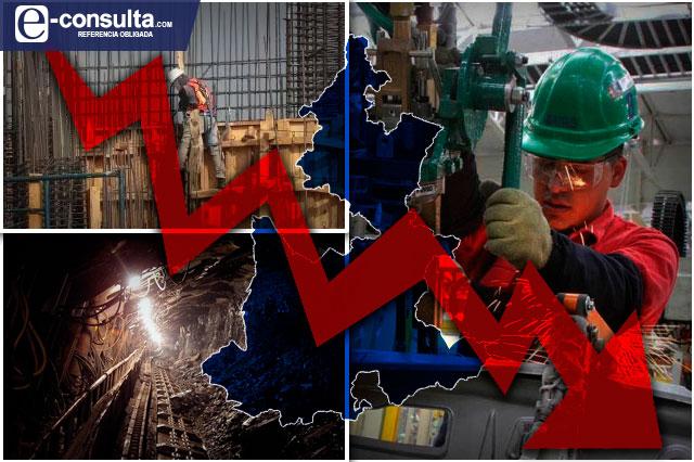 Contracción industrial en Puebla, la tercera más alta, hasta julio
