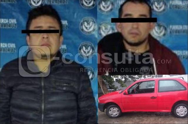 Cae pseudo policía de Puebla por ejecución y drogas en Veracruz