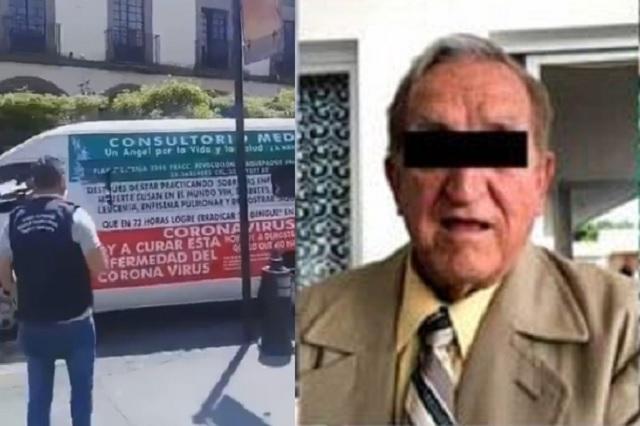 Cae presunto médico que aseguraba curar Covid-19, Cáncer y VIH