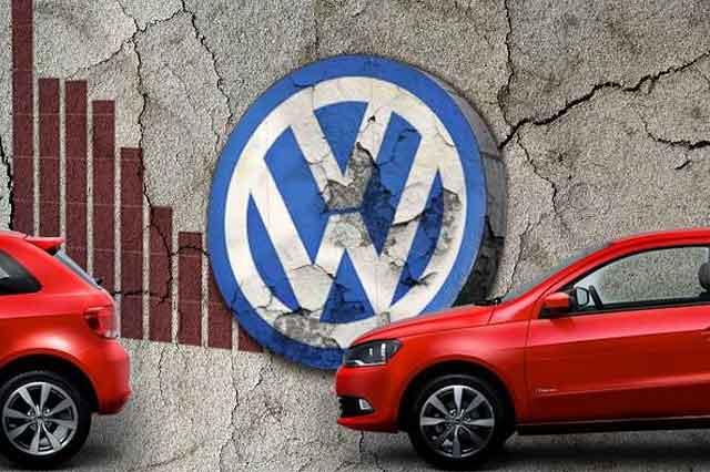 Caen 19.4 % ventas del grupo Volkswagen en mercado mexicano