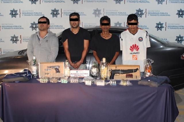 Cae banda Los Bugos; asaltaba Oxxos en San Andrés Cholula