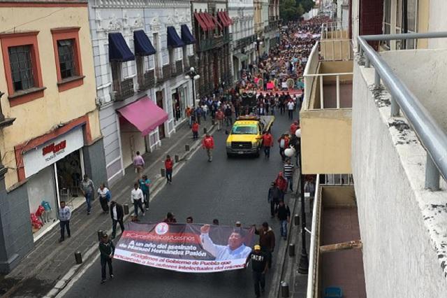 Cárcel para autores intelectuales de crimen de ex edil, pide Antorcha
