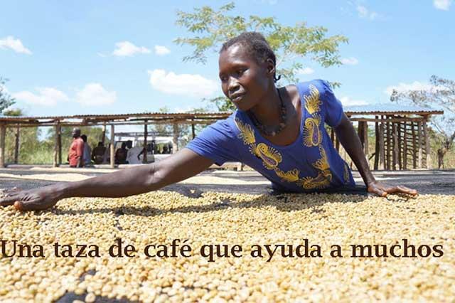 Un cafecito solidario con Sudán del Sur