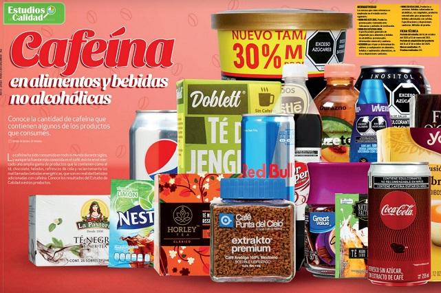 Profeco revela los productos con más cafeína y lanza advertencia