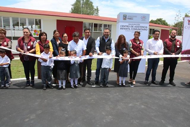 Inaugura SEDIF Centro de Asistencia Infantil en Cuapiaxtla
