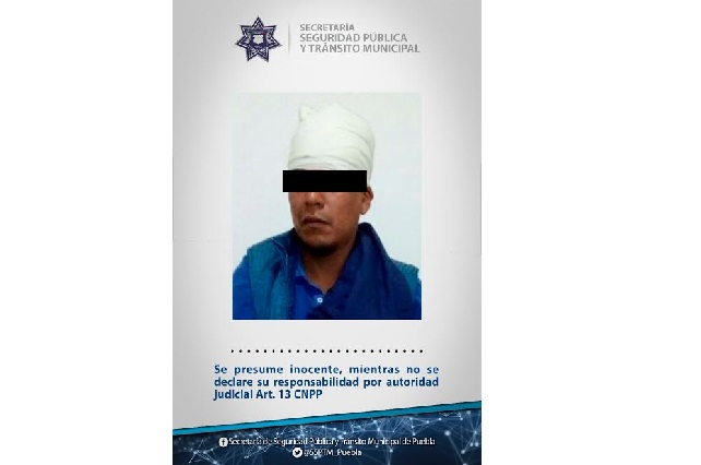Una de cal: atrapan a asaltante de cuentahabiente en la Belisario Domínguez